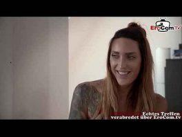 Image Junges Mädchen aus Berlin macht ein XXX Casting