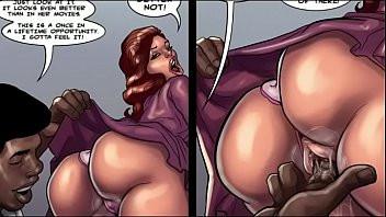Image Comic xxx, reife Süchtige nach Schwarzen